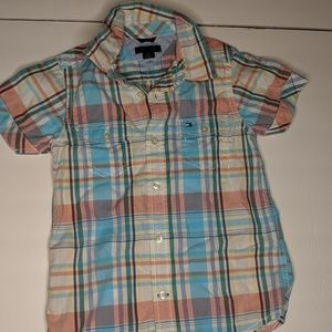 TOMMY HILFIGER Button Up Shirt Size 3T